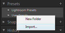 import_presets