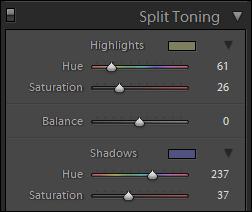Split Toning
