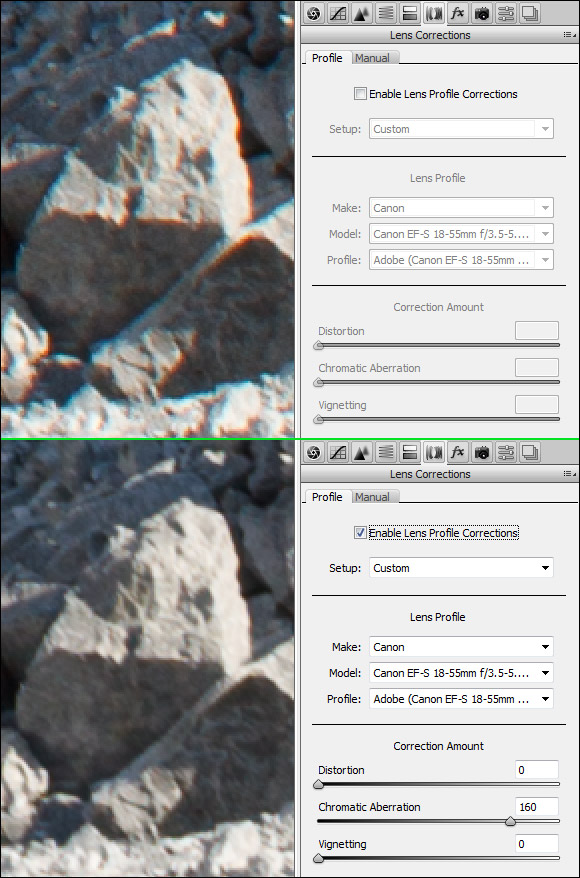 Lens Correction ACR 6.1