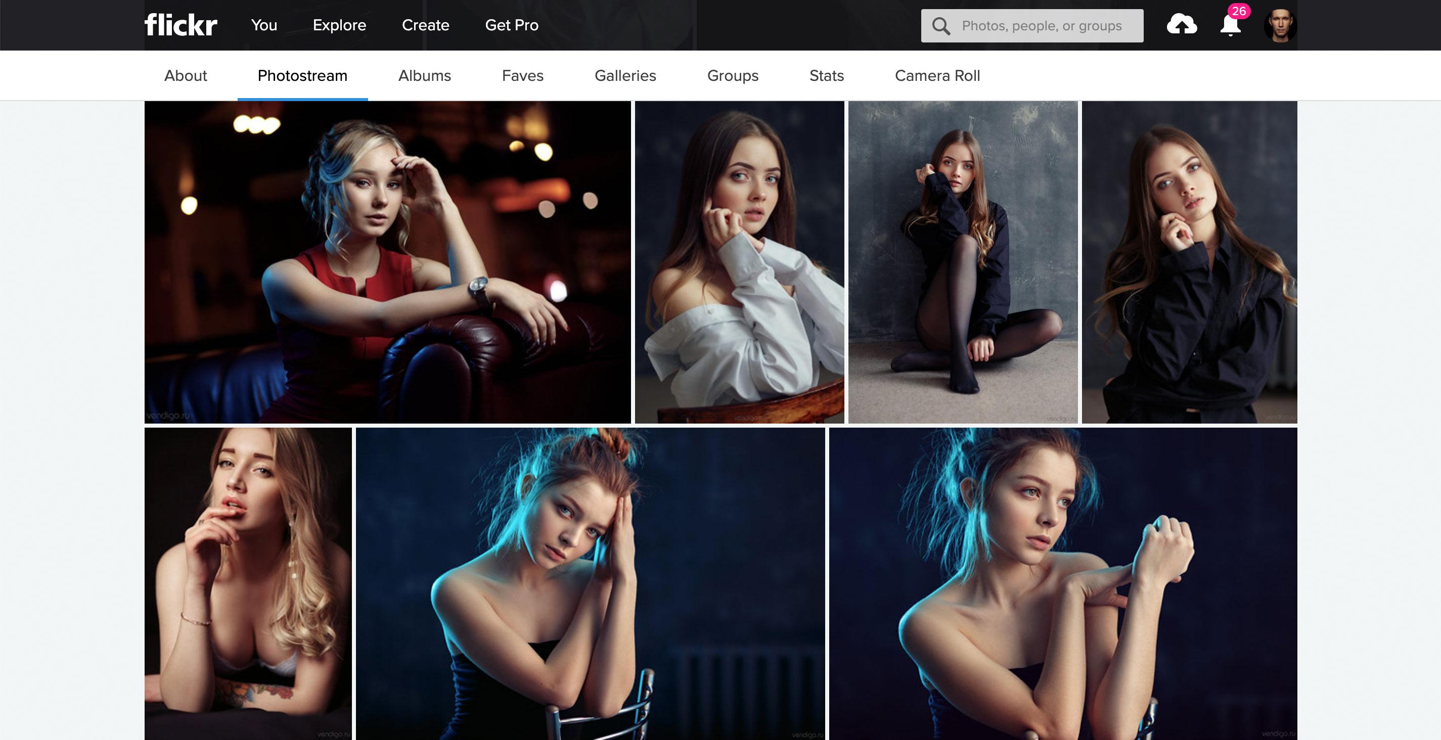 Flickr для фотографов